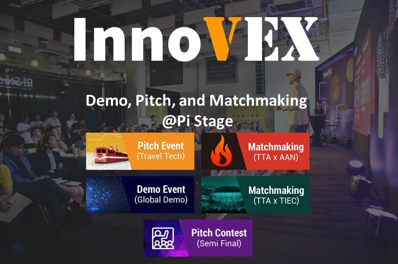 InnoVEX Pitch & Match Competition to take Place at Pi Stage